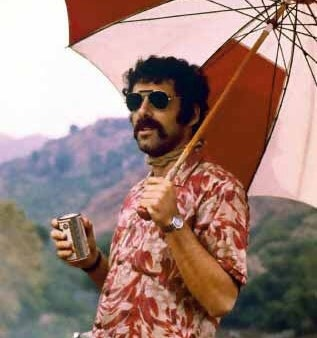 "Elliott Gould from the movie, ""Mash."" His poster was on my wall all through college."