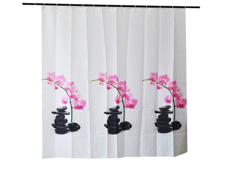 #cortinas de bano orquidea https://www.catayhome.es/categoria/cortinas-de-bano/