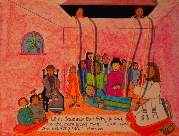Jesus Heals The Paralyzed Man Best Jesus Heals Bible
