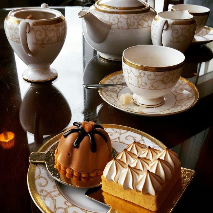 Afternoon tea at Powerscourt Hotel Wicklow Ireland laughorcry.ie