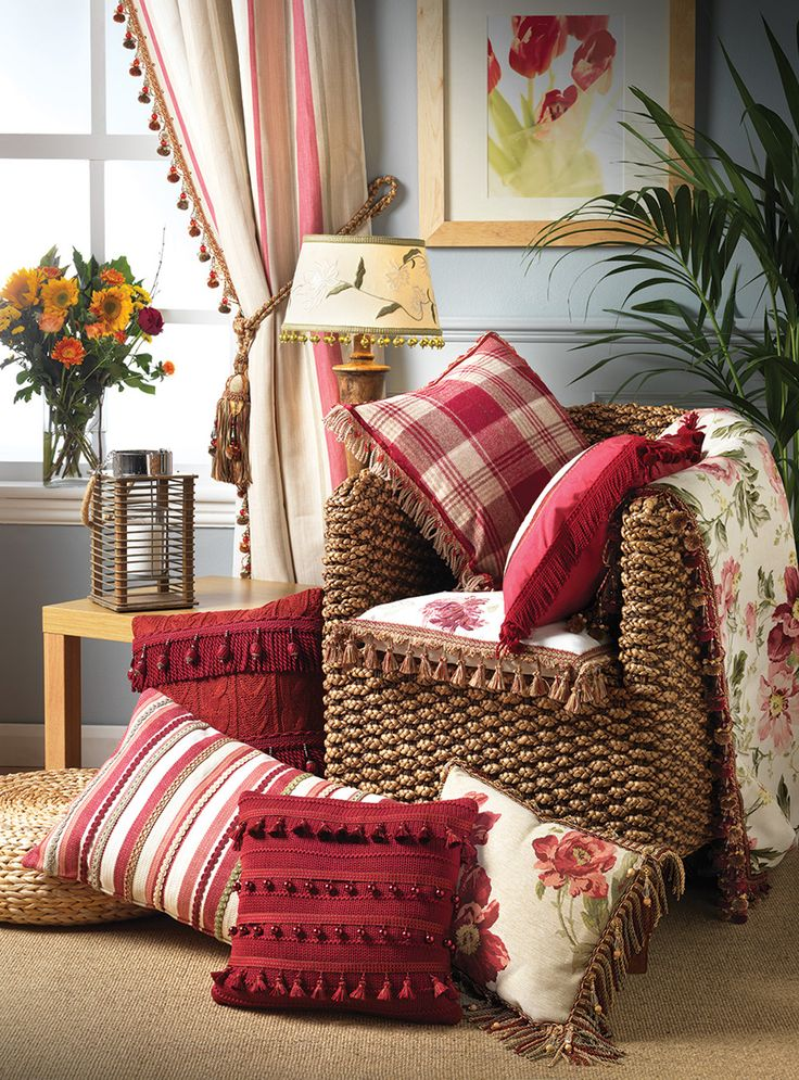 Oltre 25 fantastiche idee su cuscini divano rosso su - Federe cuscini divano ikea ...