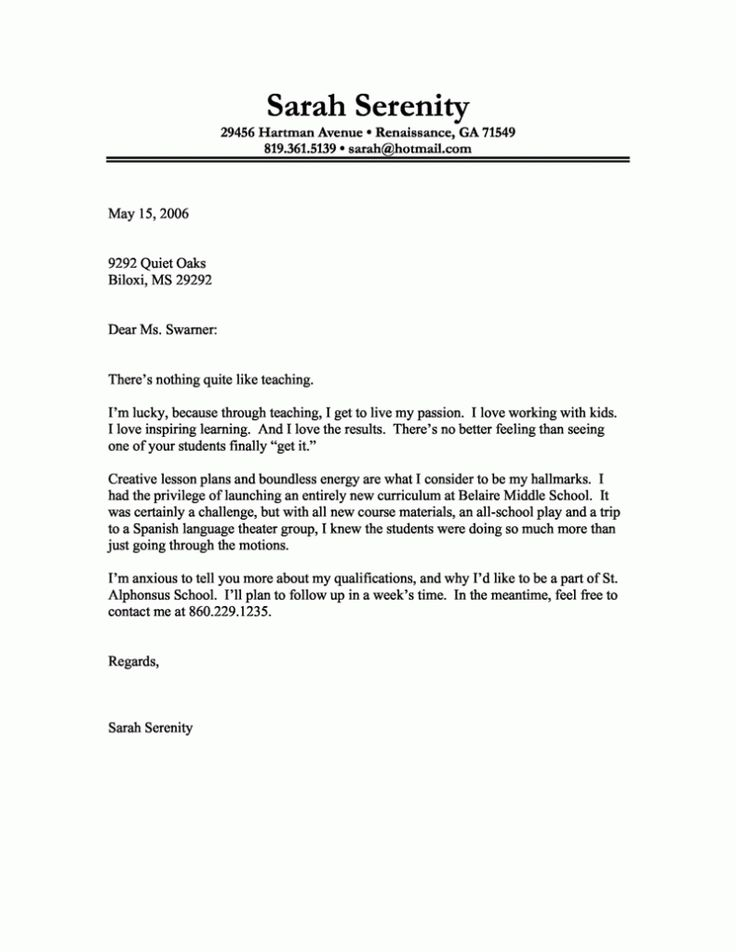 25 best ideas about Best cover letter – The Best Cover Letters Samples