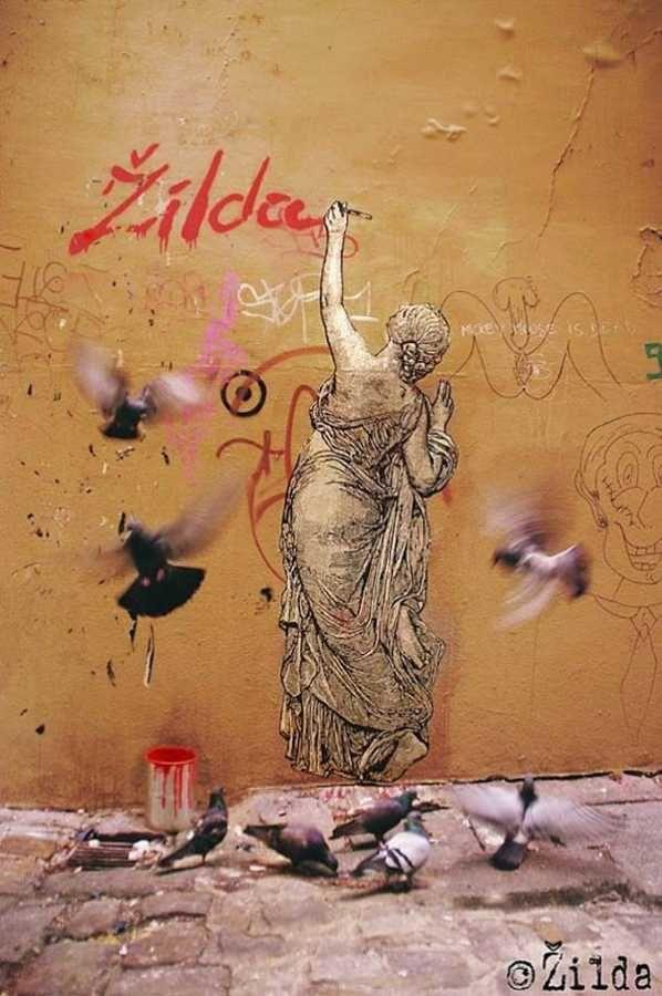Zilda | τέχνη του δρόμου το 2015, αστοί καλλιτέχνες, καλλιτέχνες του δρόμου, τοιχογραφιών, γκράφιτι τέχνης
