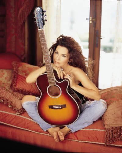 shania twain- loved her from the start. Wonderful voice, gives a great twist on country music, not to mention one of the first country stars to start showing her mid-drift in her music videos, she caught some grief for it but she stuck to what she wanted to do.
