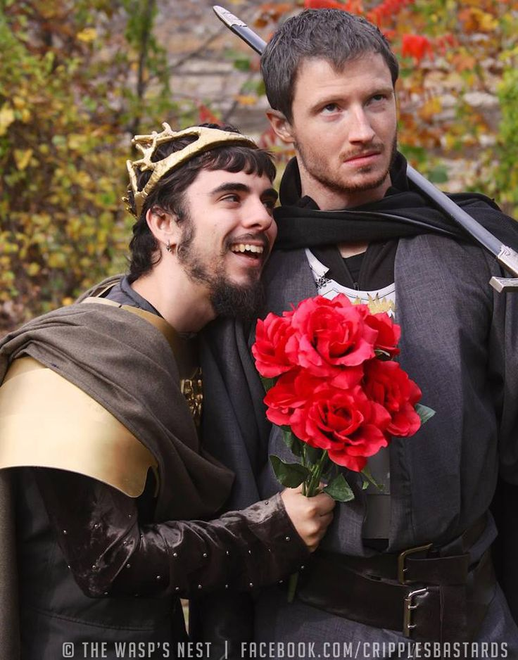 Baratheon Brothers Renly and Stannis being themselves x)  Game of Thrones Cosplays