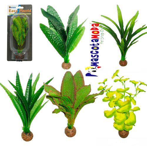 Plantas artificiales de calidad premium para acuarios y - Decoraciones de peceras ...