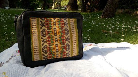 Leather Bag Boho/Leather Backpack/laptop bag/ by craftartculture