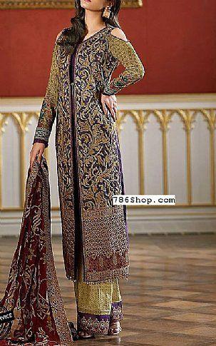 de95a7d3c5 Indigo Lawn Suit   Buy Asim Jofa Pakistani Dresses and Clothing online in  USA, UK