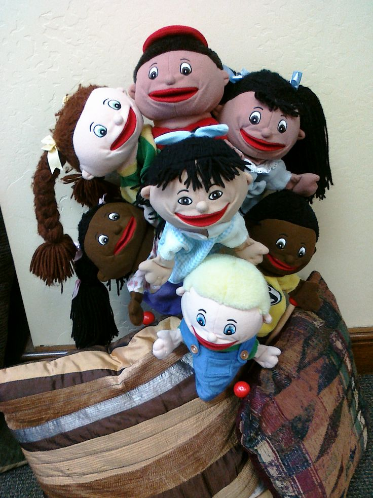 Why Play Therapy works! Puppets are powerful tools!