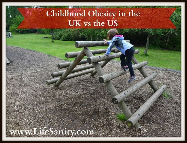 My thoughts on Childhood Obesity in the UK vs the US