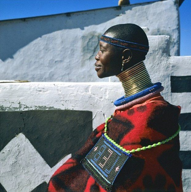 Ndebele Women Read more on https://www.facebook.com/WhereToStay/posts/934744686598325