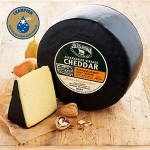 Congratulations to Alexandrina Cheese Company - Australian winner 2015 - Vintage Cheddar