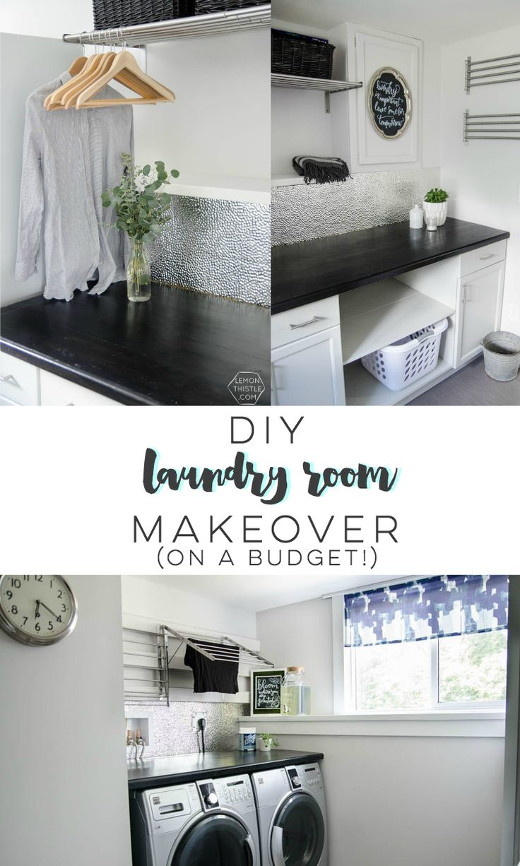 Easy Laundry Room Makeovers 385 Best Laundry Rooms Images On Pinterest Laundry Room