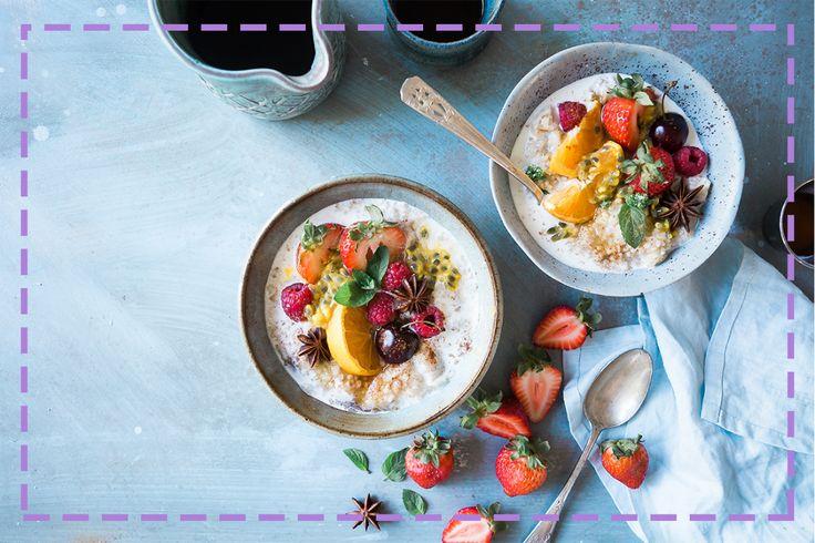 Co zjeść na śniadanie, kiedy trwa upał? Znalazłyśmy dla Was parę inspiracji: http://bit.ly/2voBPmy