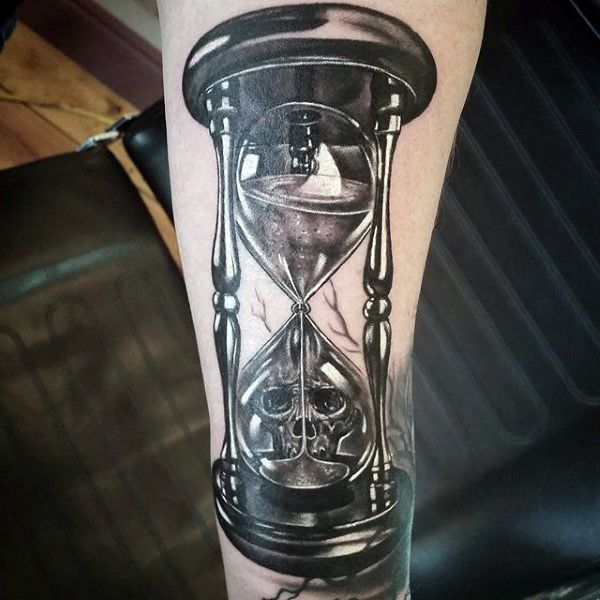 Important Meanings Behind the Hourglass Tattoo