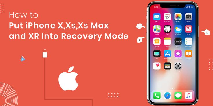 How to put iphone x xs xs max and xr into recovery mode