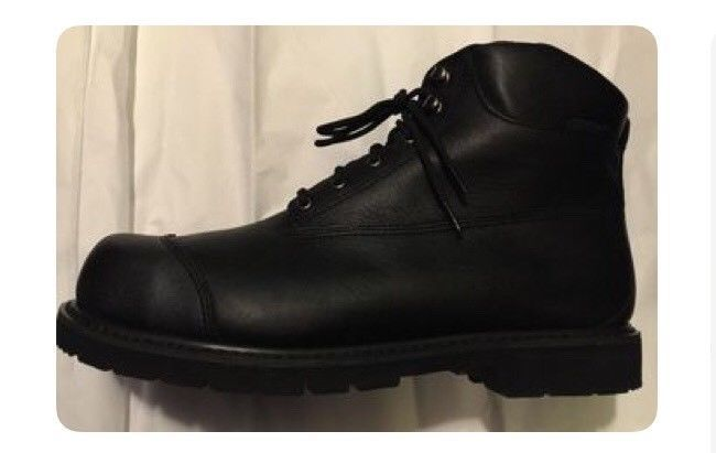 LEHIGH BLACK SAFETY WORK BOOTS - SIZE 15 (LEHI005) #Lehigh #WorkSafety