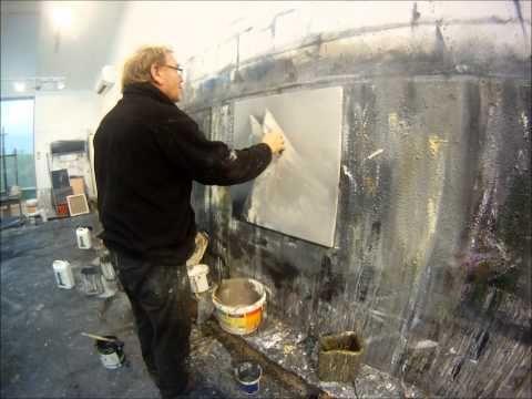 Ørnulf Opdahl painting time lapse