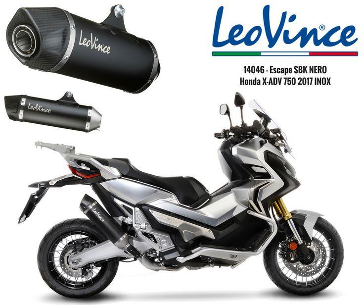LEOVINCE | Junte-se ao lado escuro! A Lusomotos está prestes a receber os novos artigos da LEOVINCE! Hoje apresentamos o Escape #14046 SBK NERO para a Honda X-ADV 750 (2017) Com um estilo agressivo e linhas afiadas, o LeoVince Nero é o novo silenciador para motos e maxi-scooters com uma aparência inovadora e moderna. Fiquem atentos, pois as novidades são excelentes! #lusomotos #leovince #escape #silenciador #honda #SBK #nero #estrada #estilodevida #segurança #qualidade #darkside #moderno