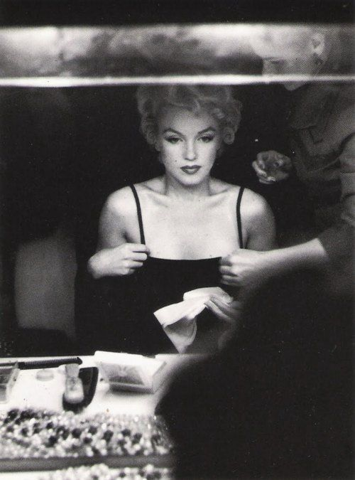 Marilyn Monroe. Photo: Sam Shaw, 1954.