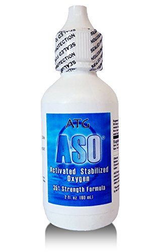 ASO 35% 350,000ppm ACTIVATED STABILIZED LIQUID OXYGEN 2 OZ Bio-Available Oxygen-Enhanced Formula:    Activated Stabilized Oxygen (ASO), also known as liquid oxygen, is a 35% oxygen strength formula at 350,000 ppm!/b It has completely natural/b ingredients and is naturally ph balanced. Want the best/b liquid oxygen formula for the best/b price? Look no further! /p  Love to exercise, but always end up feeling exhausted afterwards?/b This formula has shown to directly/b oxygenate your blo...