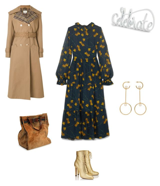 """Celebrate"" by francystyling78 on Polyvore featuring moda, Borgo De Nor, Jimmy Choo, Gucci, Chloé e Grandin Road"