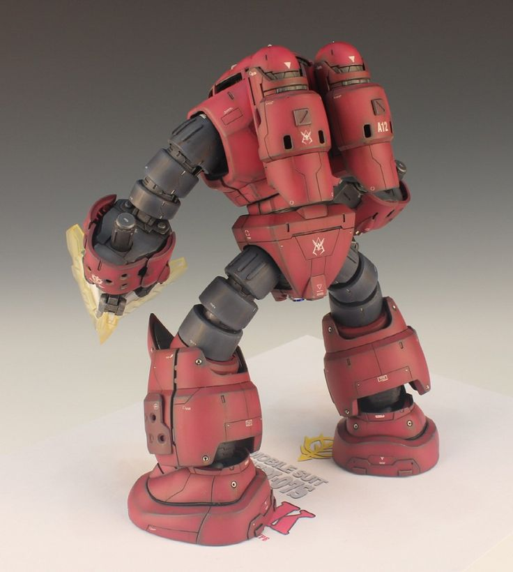 MG 1/100 MSM-07S Char's Z'gok Ver.Weathering Color: Latest Work by TORI. Full Photoreview with Many Wallpaper Size Images | GUNJAP