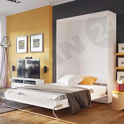 Wandbett Vertikal Schrankbett Klappbett Raumsparbett Rico PRO Funktionsbett !! in Möbel & Wohnen, Kindermöbel & Wohnen, Möbel | eBay