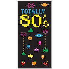 Totally 80's Door Cover from Windy City Novelties