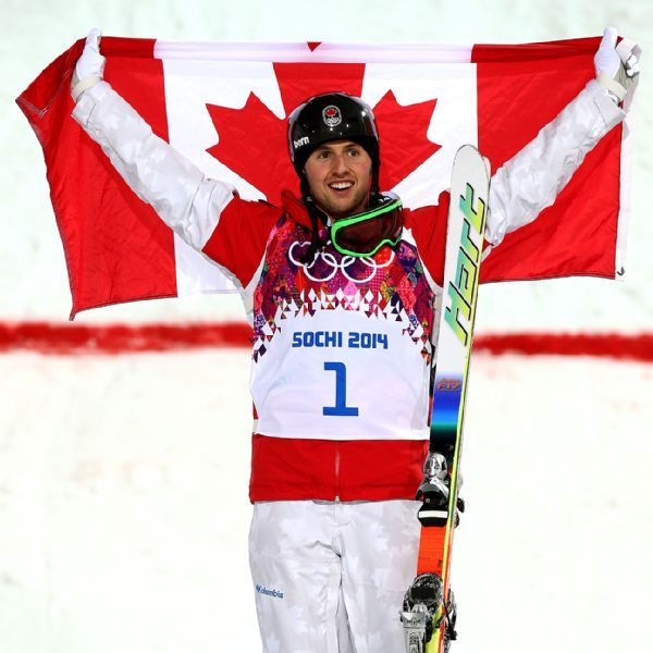 2014 Winter Olympics -- Canada's Alex Bilodeau repeats as gold medalist in men's moguls - ESPN