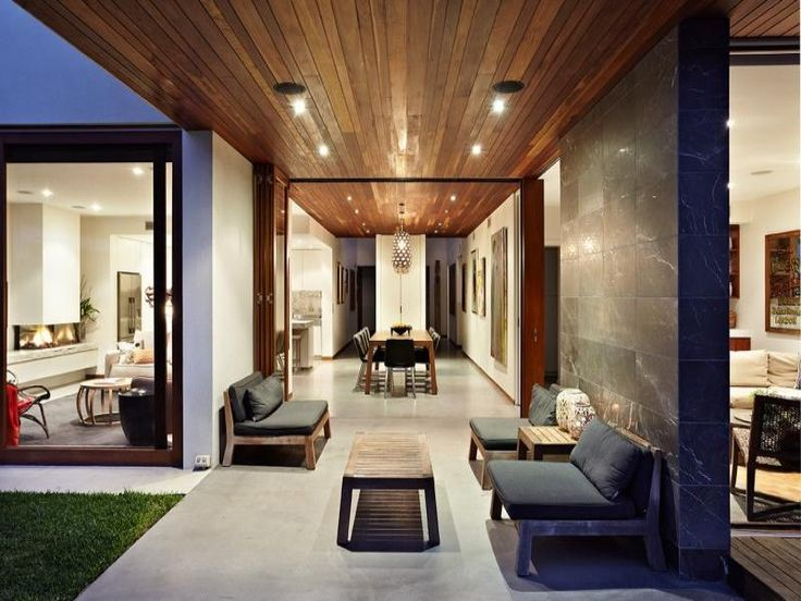 Interior aspect of a residential house in Caufield, Australia by Bower Architecture