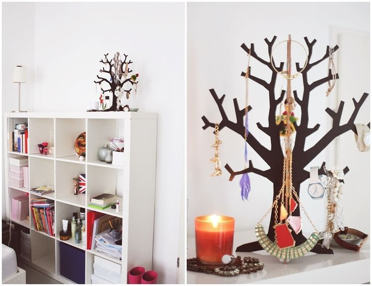 """Beitrag 7 von """"If I Were Audrey"""" blog! #schmuck #schmuckbaum #deko #jewelry #jewelrytree #homedecor - http://www.fashionforhome.de/schmuckbaum-challenge"""