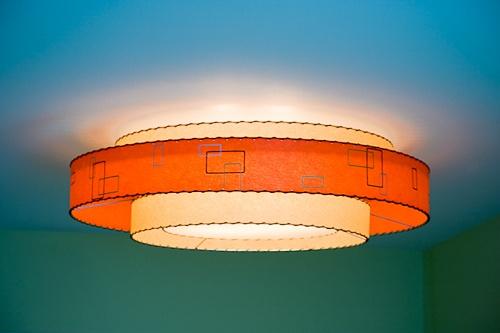 Retro atomic lampshades from Moon Shine Lamp & Shade