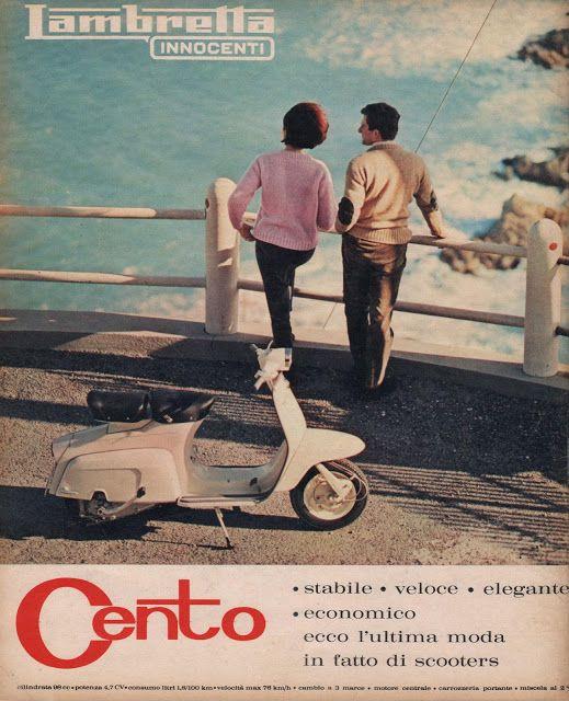 """FLASH 1964 di GENERAZIONI e """"PICK-UP"""": pubblicità - INNOCENTI (Lambretta)"""