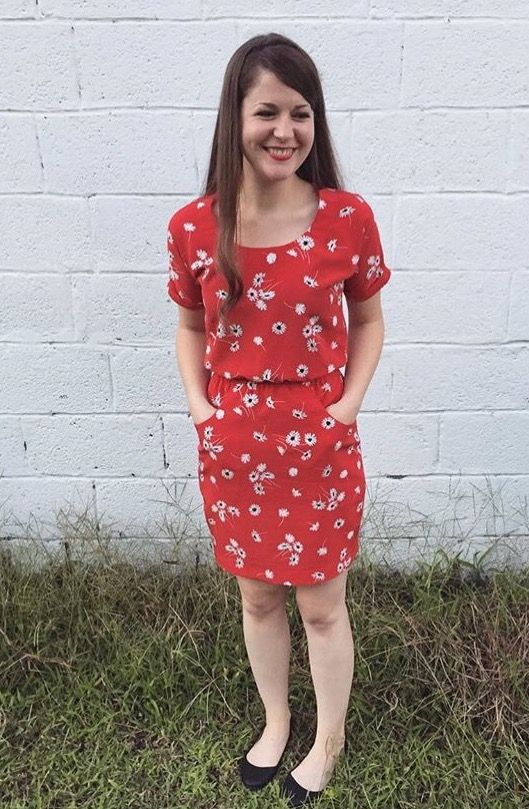 Madeline's Bettine dress - sewing pattern from Tilly and the Buttons