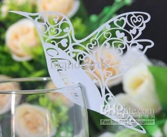 Wholesale Place Cards - Buy 120pcs Humming Bird Wedding Name Place Cards,Wine Glass Cards,Table Cards,for Wedding,Birthday, $0.22 | DHgate