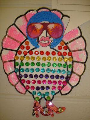 Turkey in disguise! Love it!