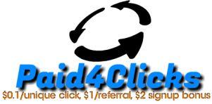 Paid4Clicks Logo