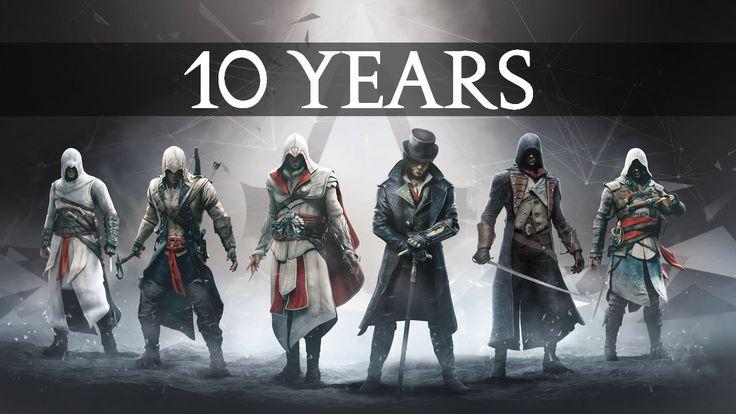 10 Years of Assassin's Creed | Retrospective Tribute (https://www.youtube.com/watch?v=1RpMqt7J1Bk)