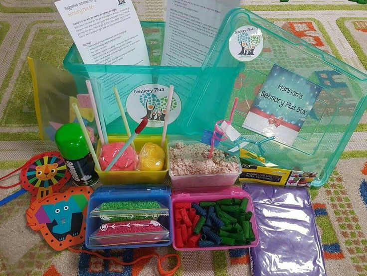 Our Sensory Plus Box is perfect for ages 6months - 6 Years. Featuring a combination of Sensory & Fine Motor Skills Activities.