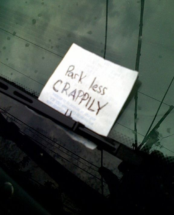 The 40 Best Passive Aggressive Parking Notes