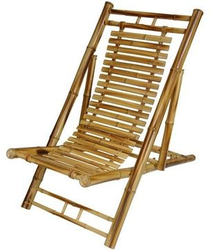 Japanese Bamboo Folding Chair traditional chairs