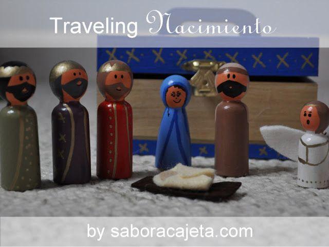 Holiday Crafting: Traveling Miniature Nacimiento {TUTORIAL}