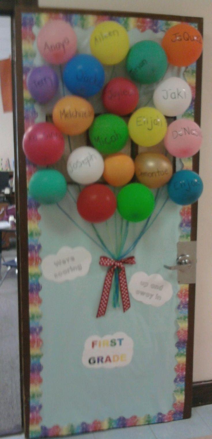 classroom door-beginning of year