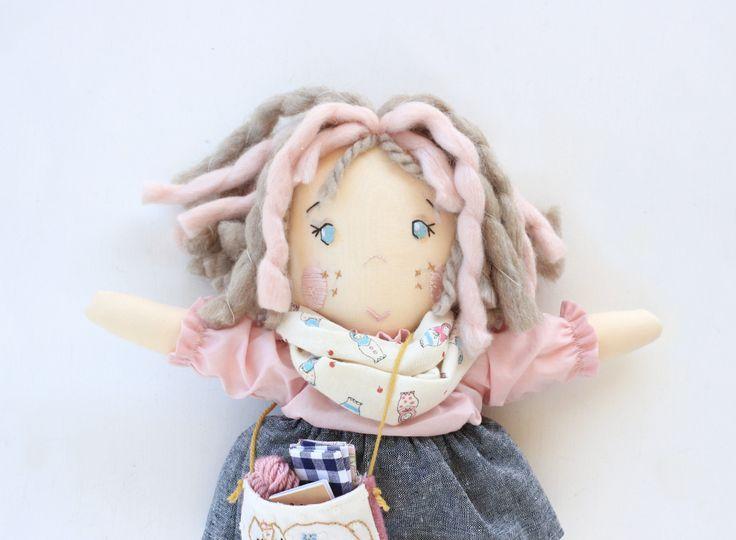 Meet Rosella   Handmade Doll
