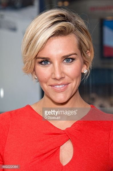 Charissa Thompson co-hosts 'Extra' at their New York Studios at H&M in Times Square on April 10, 2015 in New York City.