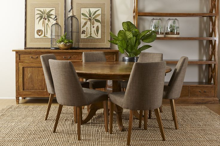 Deauville round table with Chateau buffet. Available in stores now. http://www.shack.com.au/contact-us