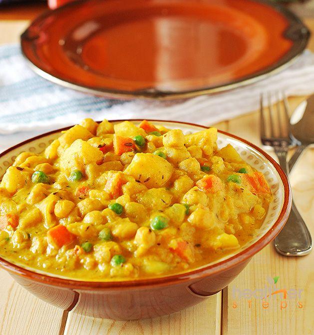 Spicy Potato Curry (Vegan)