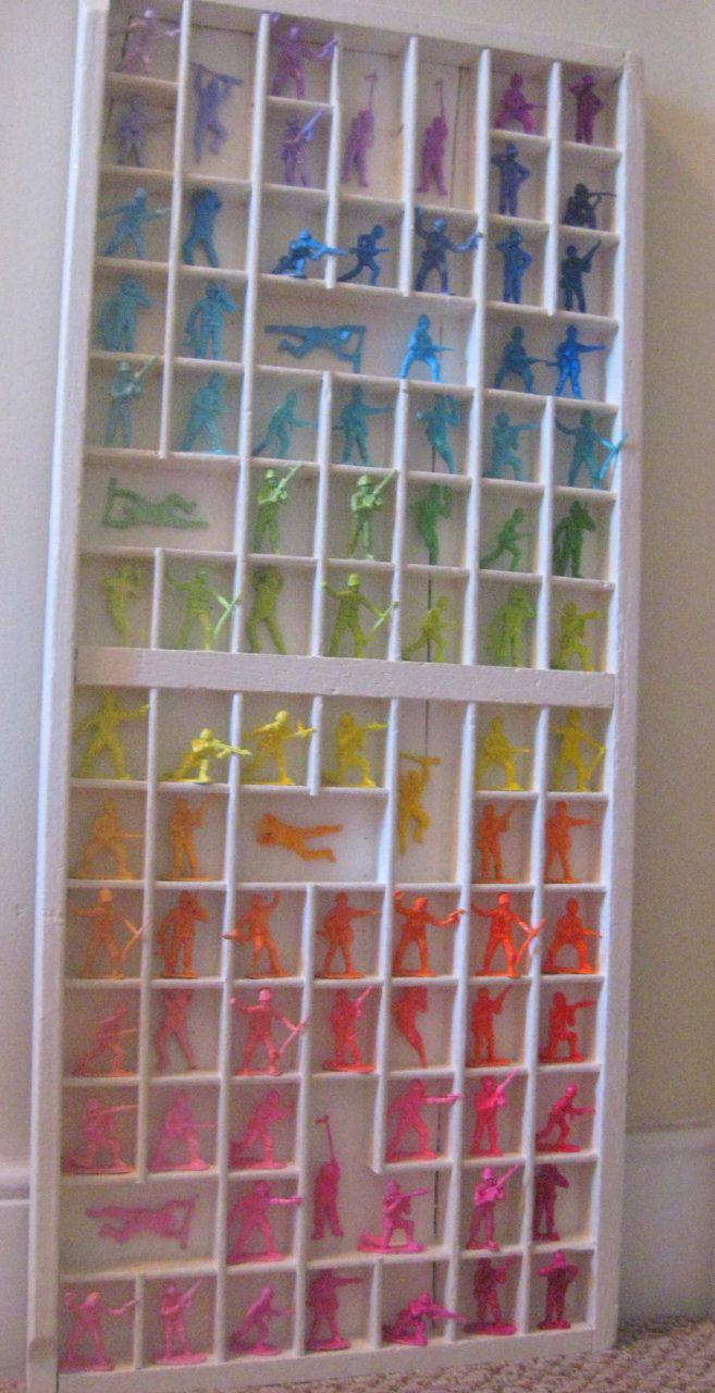 from etsy #plastic #toys #rainbow