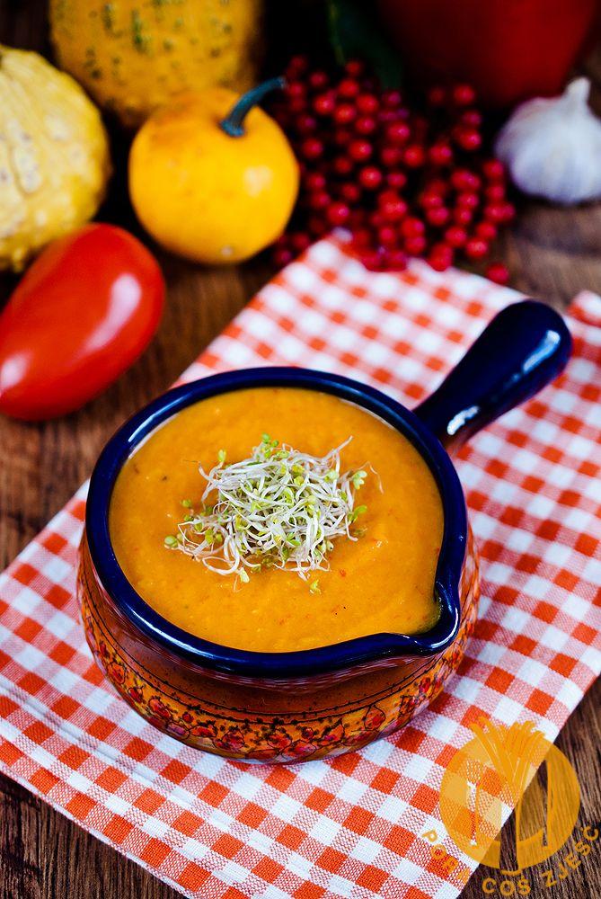Zupa krem z pieczonych warzyw (dyniowa)